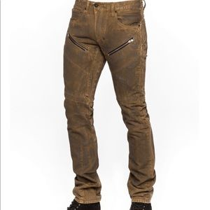 PRPS w31 dirty brown jeans NWT